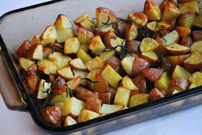 Roasted Potatoes Recipe - in time for the holidays!
