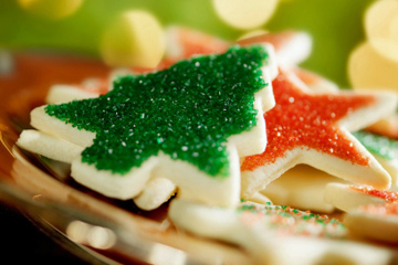 Holiday Cookies Out in the Cold - Fast and Hot Recipe!